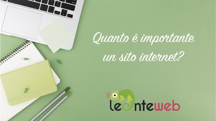 Quanto è importante un sito internet?