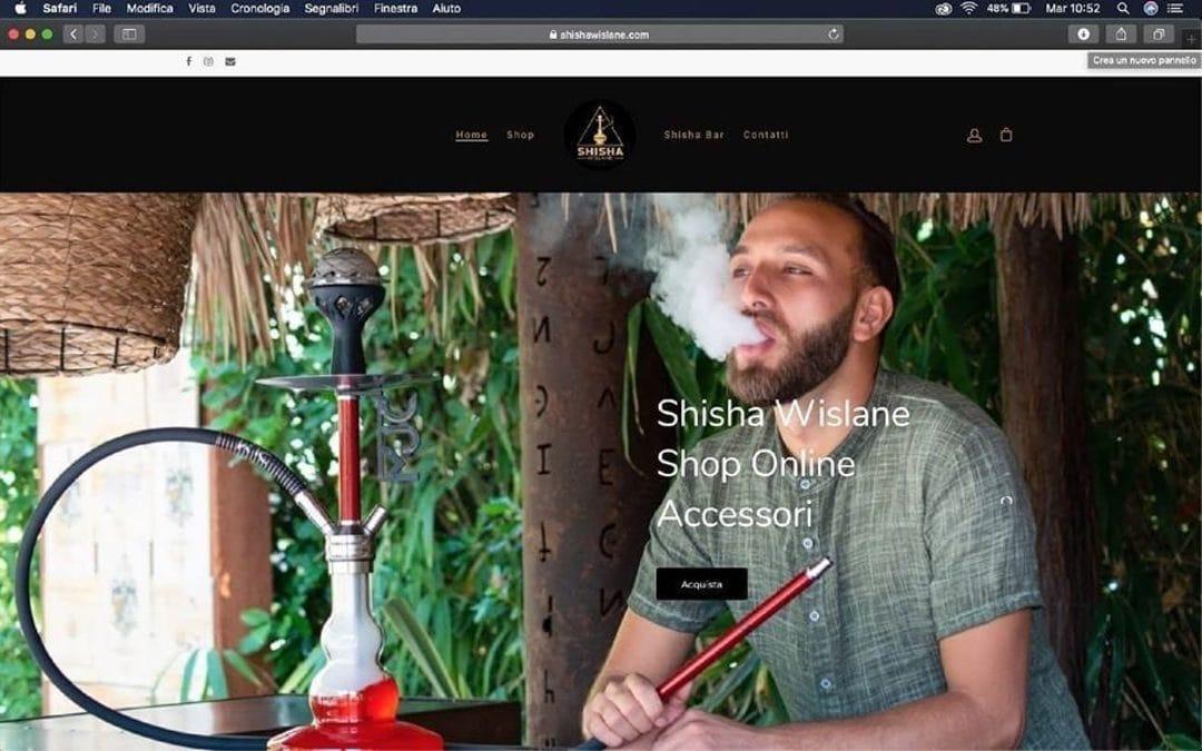 E-commerce Narghilè – Shisha Wislane