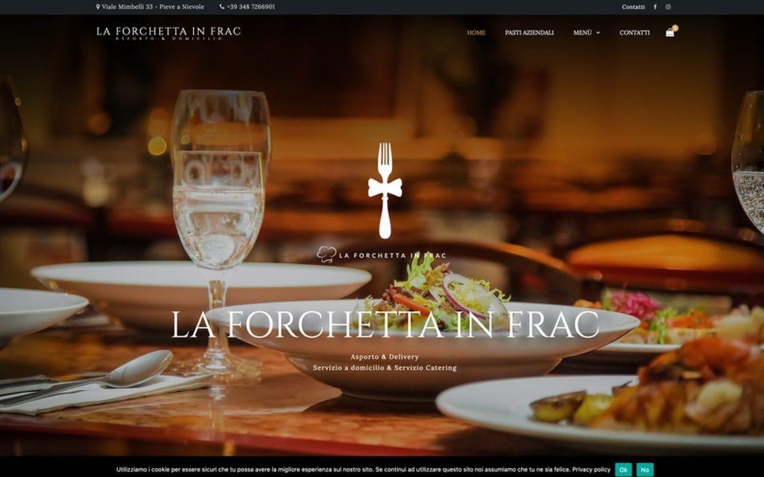 Sito E-commerce La Forchetta in Frac