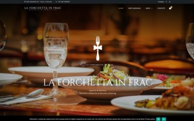 Sito E-commerce La Forchetta in Frac