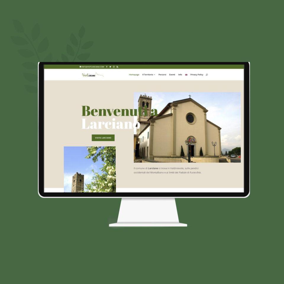 Leonteweb di Sara Cosimano Sito Internet per Visit Larciano Sito internet