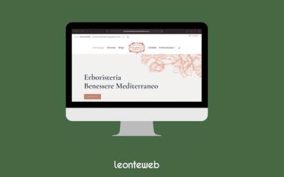 Leonteweb di Sara Cosimano Sito E-commerce Mirtillamob E-commerce Sito internet
