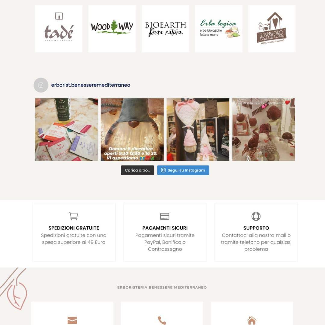 Leonteweb di Sara Cosimano Sito E-commerce Erboristeria Benessere Mediterraneo E-commerce