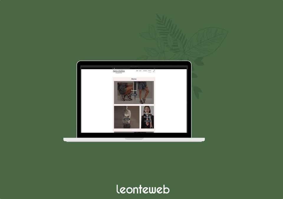 Ecommerce Max moda case study