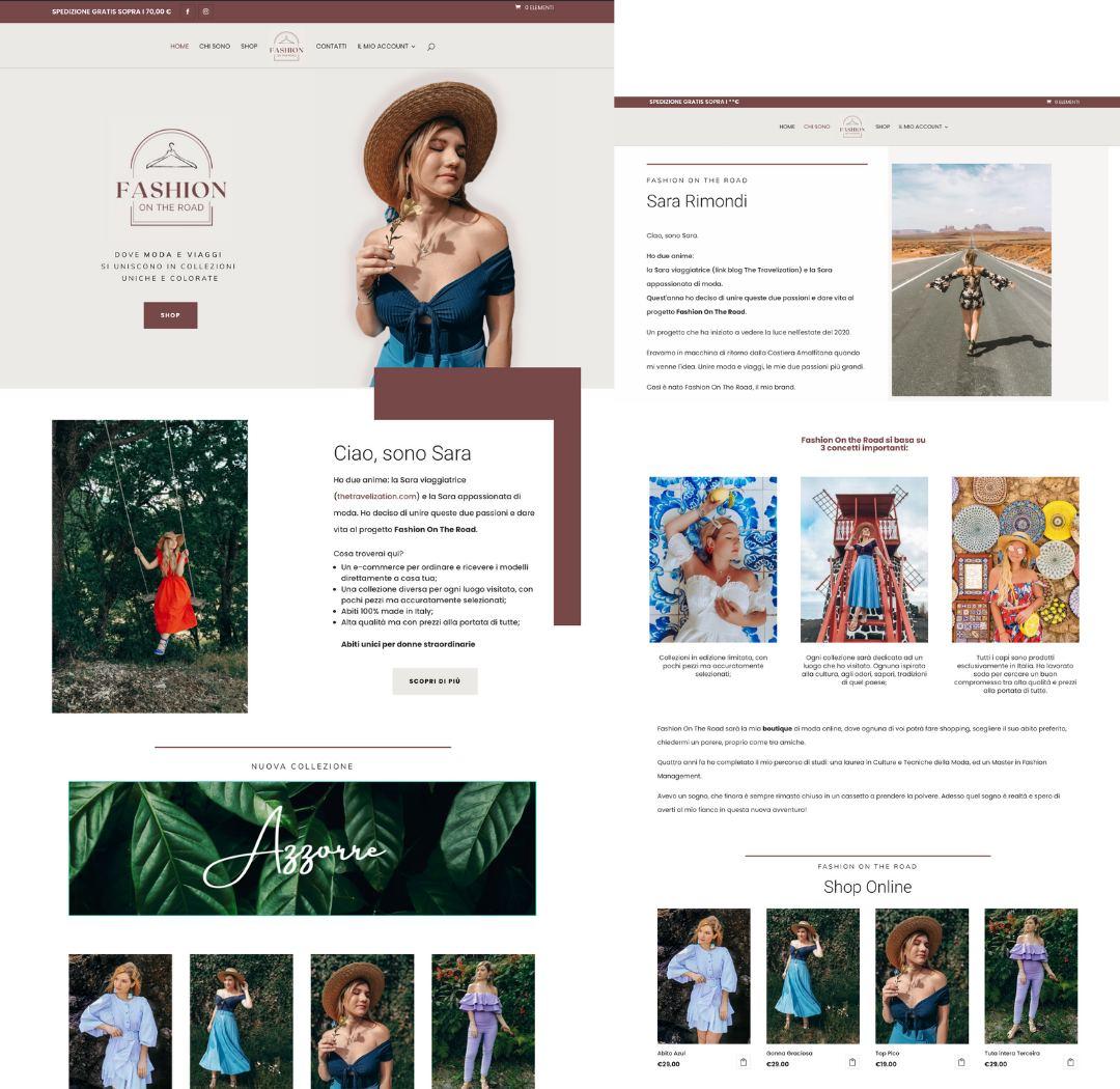 Leonteweb di Sara Cosimano Viaggi e moda in un solo progetto: Fashion on the road E-commerce